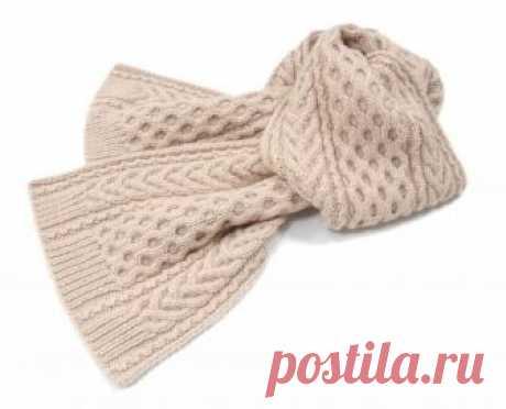 30 необычных узоров для вязания шарфа спицами Красивые шарфы для зимы и узоры для них с фото и схемами, включая как самые простые, так и сложные в исполнении.