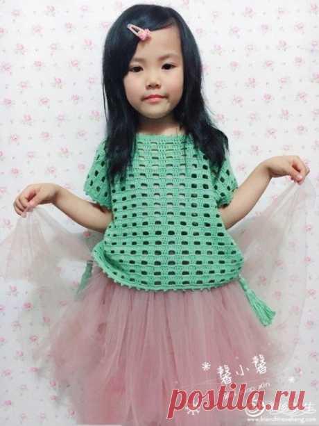 Модная кофта для малышки