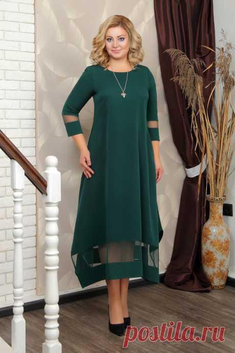 ПЛАТЬЕ 5645.10.4+украшение: купить по цене от 1 230 руб. в интернет-магазине Знатная Дама