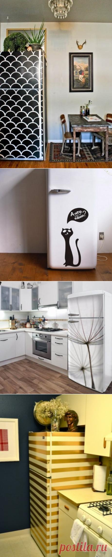 Украшаем холодильник: необычные и уютные кухни — Полезные советы