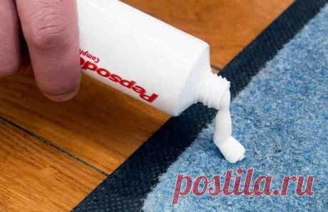 Невероятно простой способ почистить ковер от пятен