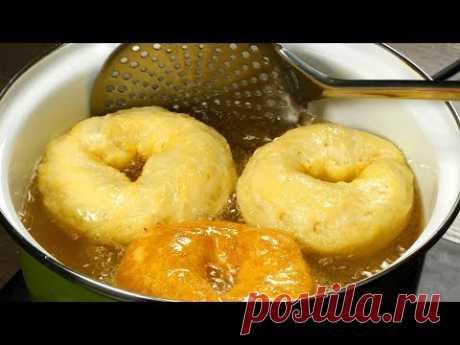 Невозможно остановится! Невероятно вкусные, сочные и хрустящие картофельные пончики. | Appetitno.TV