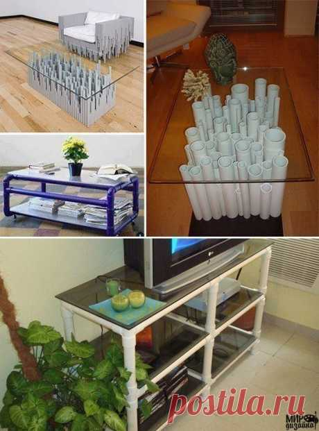 Идеи с пластиковыми трубками