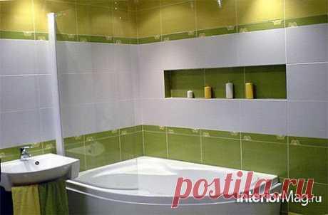 Дизайн ванной комнаты с угловой ванной - 10 фото интерьеров | ИнтерьерМаг.ру
