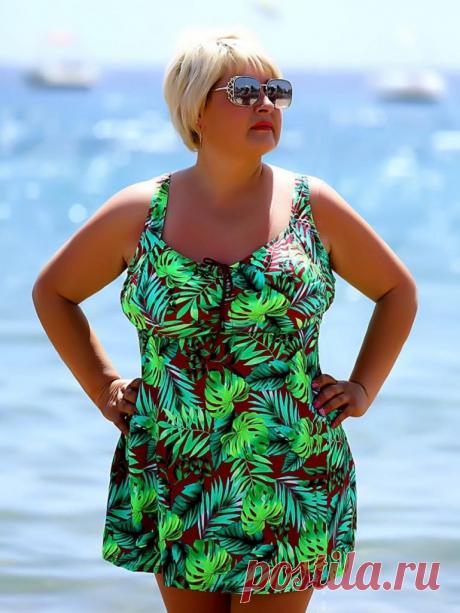 Закрытые купальники для полных женщин – встречаем лето 2020 красиво | Жизнь пышки | Яндекс Дзен