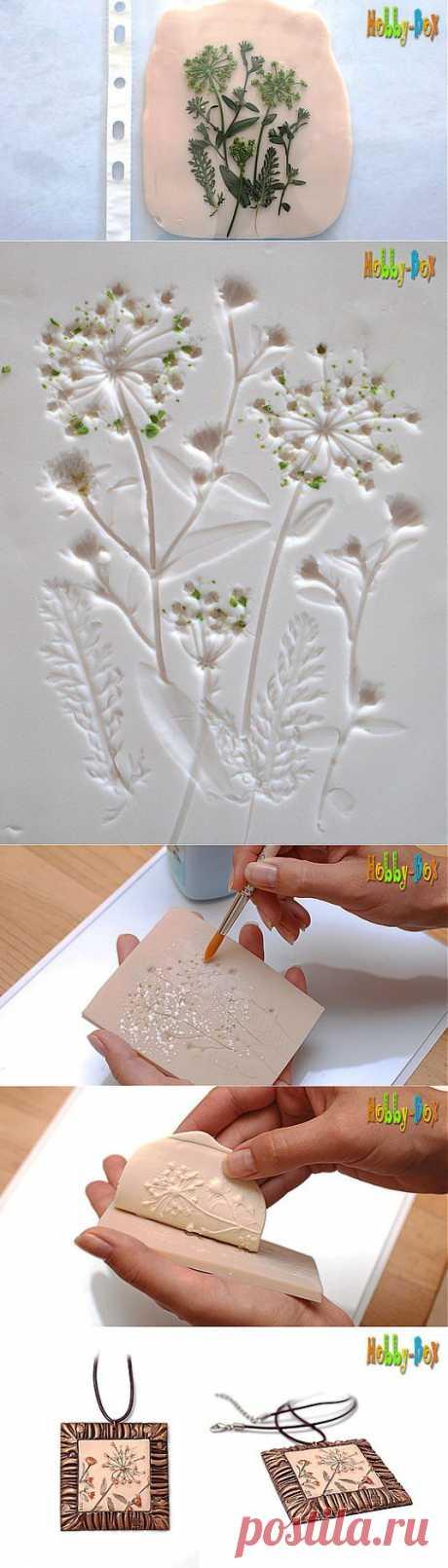 Текстурный лист с растительными мотивами   СДЕЛАЙ САМ!