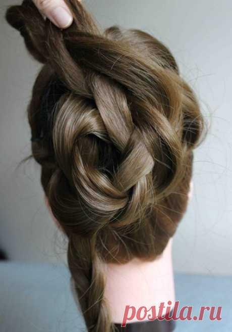 Причёска быстро и красиво