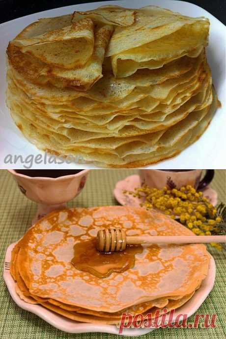 Chef cuisine \/ 10 RECIPES of the MOST TASTY PANCAKES. Part 2. Are READY to MASLENITSA!