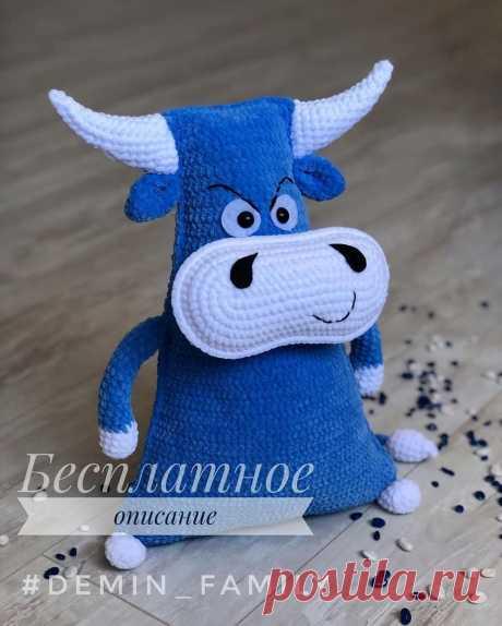 PDF Мастер-класс по вязанию крючком плюшевого бычка #схемыамигуруми #амигуруми #вязаныеигрушки #вязаныйбык #быккрючком #amigurumipattern #amigurumi #crochetbull #crochetpattern #crochettoy #amigurumitoy #amigurumibull