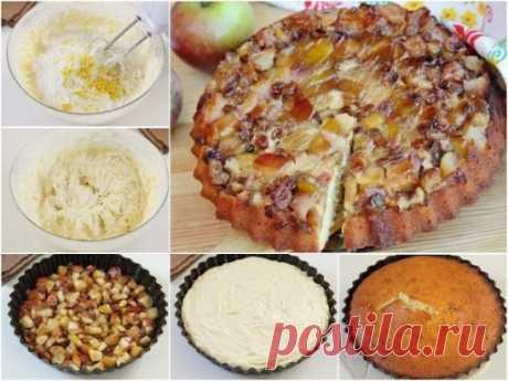 Пирог с яблоками от Гордона Рамзи