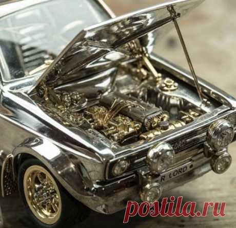 Уникальная модель Ford из серебра, золота и платины | Новостной портал foto-elf: свежие новости России и мира