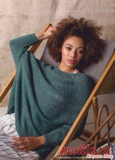 Пуловер оверсайз - Вязание - Страна Мам