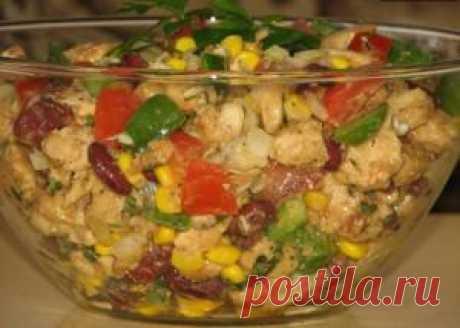 Салат без майонеза - вкусный и питательный