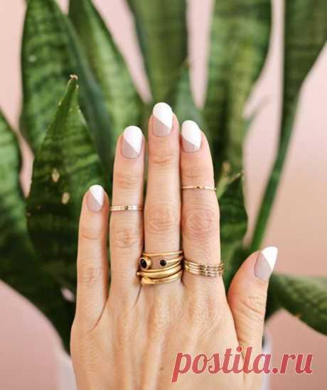 15 вариантов роскошного минималистичного маникюра / Все для женщины