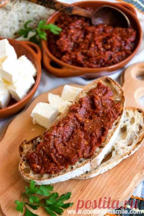 Cook With A Smile | Домашна лютеница - традиционна, селска, едросмляна и вкусна
