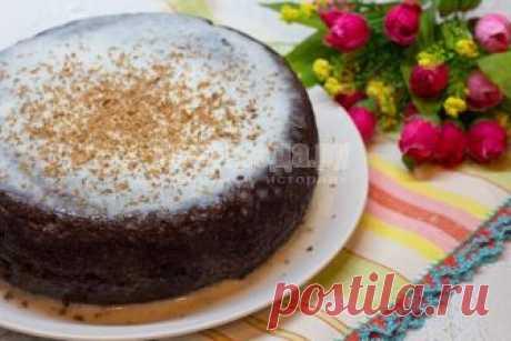 Шоколадный бисквит на кипятке в мультиварке - рецепт с пошаговыми фото | Все Блюда