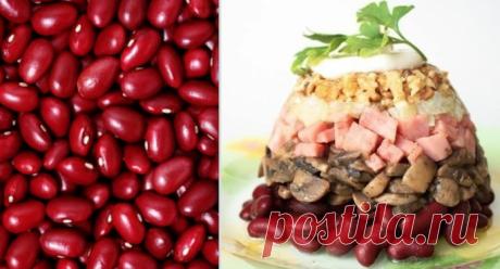 5 нереально вкусных повседневных салатов с красной фасолью