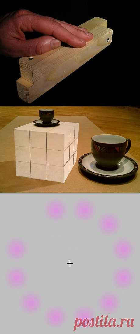 10 illusions which will blow up your brain - Artists and art projects