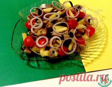 """Салат """"Благовещенский"""" – кулинарный рецепт"""