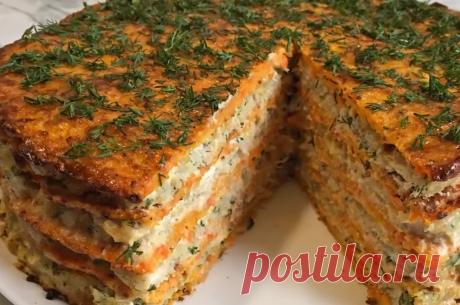 Закусочный Морковный Торт с Рыбой! | Диссертация женских дел | Яндекс Дзен
