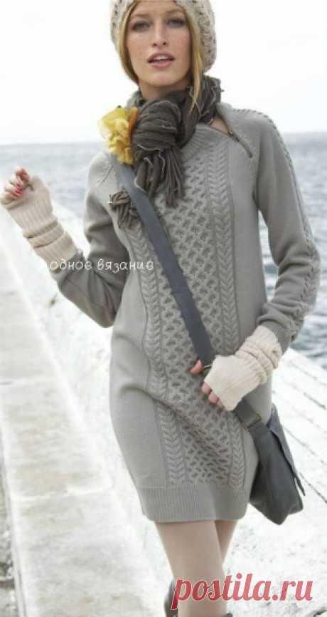 туники,платья,юбки - Модное вязание