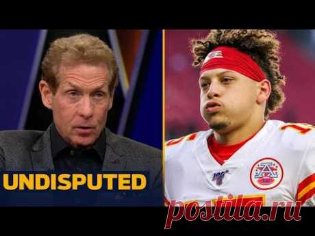 UNDISPUTED - Patrick Mahomes was incredible!! Skip Bayless lauds Chiefs' QB after victory over Bills