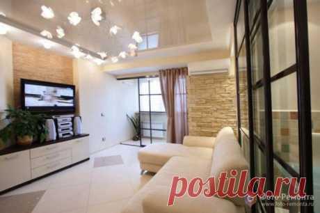 Красивый дизайн интерьера квартиры - 10 фото комнат после ремонта