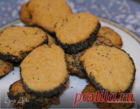Сырное печенье с маком. Рецепт Юлии Высоцкой