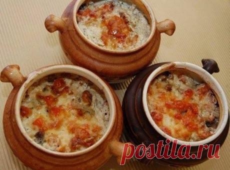 Куриные сердечки в сливках, приготовленные в горшочках | Вкуснотища Дома | Яндекс Дзен
