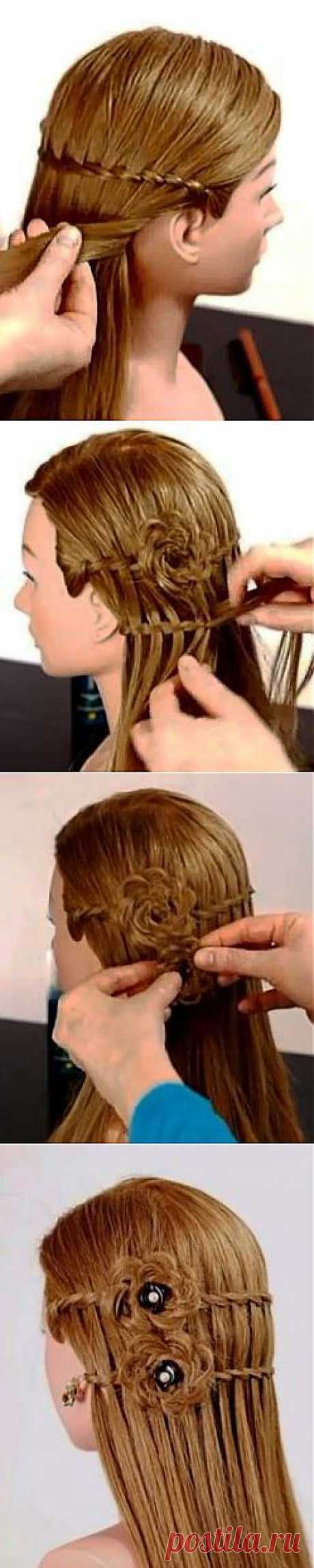Lovely and gentle hairdress