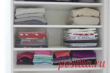Разбор гардероба с умом: как сделать, чтобы даже в маленьком шкафу одежда была в порядке   Мода. Стиль. Личность   Яндекс Дзен