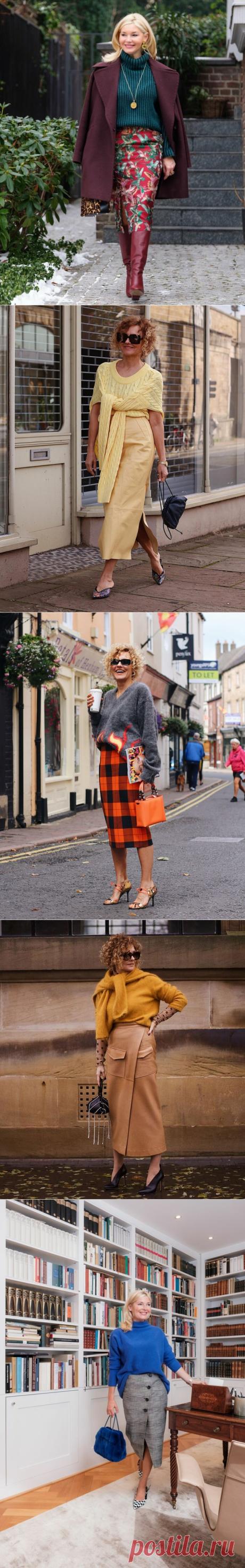 Фасоны юбок, которые красиво смотрятся на женщинах зрелого возраста   LADY DRIVE 🎯   Яндекс Дзен
