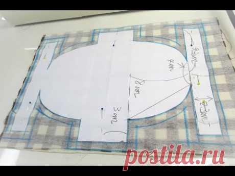 楕円形ポーチ作ってみた&作り方  型紙動画