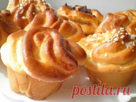 The most tasty rolls with a stuffing!! - Simple recipes of Овкусе.ру