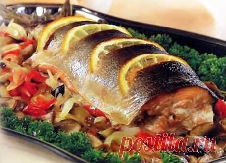 Рыба в духовке — три самых лучших рецепта и пару лучших полезных советов - Типичный Кулинар