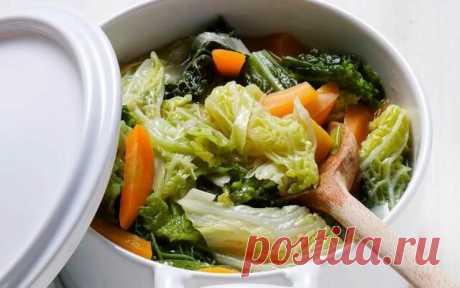 Капустный суп для похудения - минус 6 кг за 7 дней | О Теле. ру | Яндекс Дзен