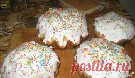 Оригинальный пасхальный кулич - пошаговый кулинарный рецепт с фото на Повар.ру