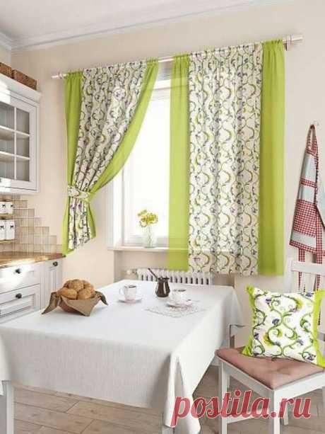 Выбираем шторы для кухни — Pro ремонт