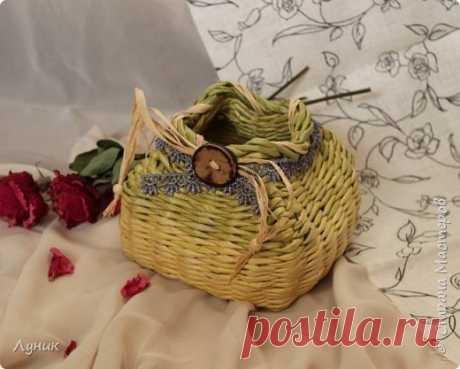 Плетеные корзиночки для дома — Делаем Руками