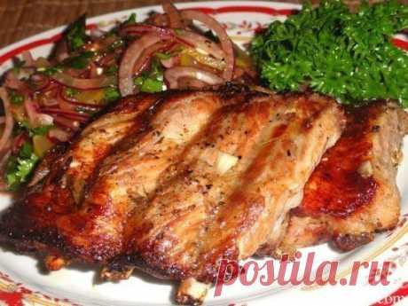 ebryshki sobre el picnic: 5 variantes de la presentación\u000d\u000a\u000d\u000aLa receta primero: De cerdo rebryshki en medovo-gorchichno-de tomate marinadeshustryy el Cocinero | las Recetas | la Cocina