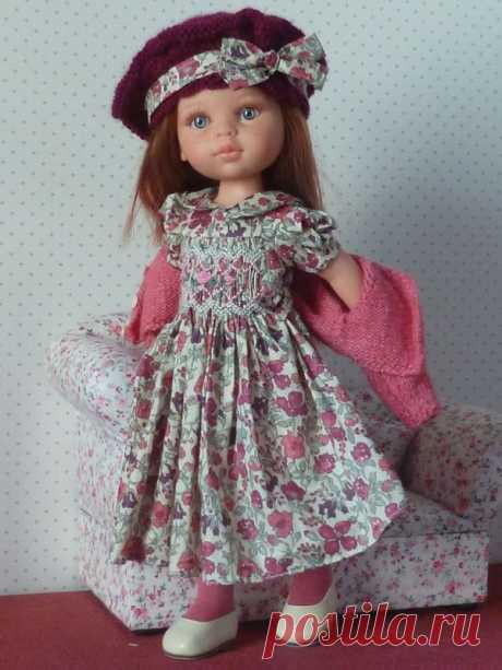 Cheries No. 14- платье с СМОКИНГ *** - Моя маленькая швейная школа ...