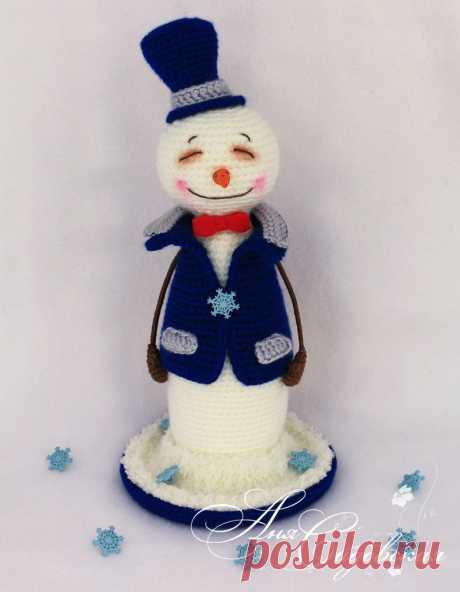 Снеговичек. Амигуруми. Вязаная игрушка. Вязаный снеговик. Амигуруми снеговик #снеговичок #снеговик #вязаныйснеговик #снеговичок #вязанаяигрушка #амигуруми #амигурумиигрушка #амигурумиснеговик #новогодняяигрушка #новыйгод2020 #вязанаяигрушкакрючком #бесплатноеописание #бесплатныймастеркласс #вязанаяжизнь #игрушкасвоимируками