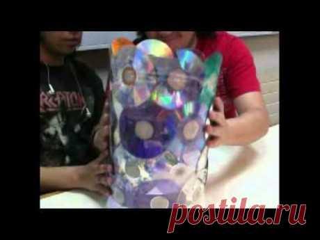 Mas de100 ideas de como reciclar cds
