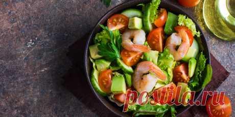 10 ярких салатов с авокадо для истинных гурманов - Лайфхакер