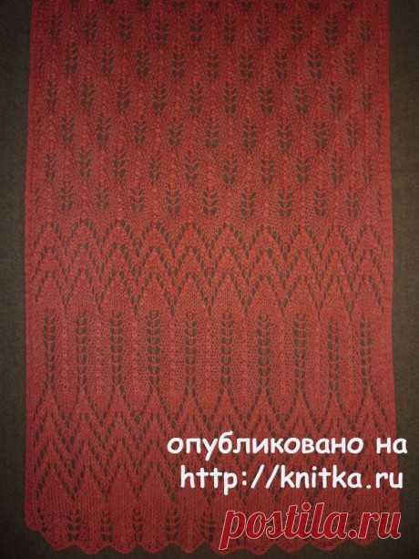 Openwork palatine. Elena Vladimirovna's work, Knitting for women