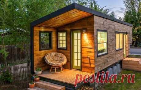 Маленькие дома: 30 самых оригинальных и необычных — INMYROOM