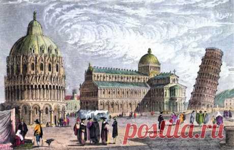 Когда расчет оказался неверным: 8 впечатляющих фактов о печально известной Пизанской башне