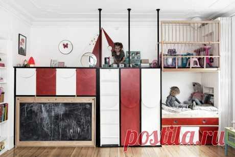 4 оригинальных способа обустроить маленькую детскую комнату