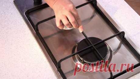 аконец-то я научилась мыть решетки газовой плиты легко и просто