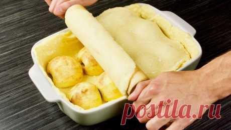 Яблочных пирогов много не бывает! Вот еще один в вашу копилку. Песочное тесто, сочные и нежные яблоки!